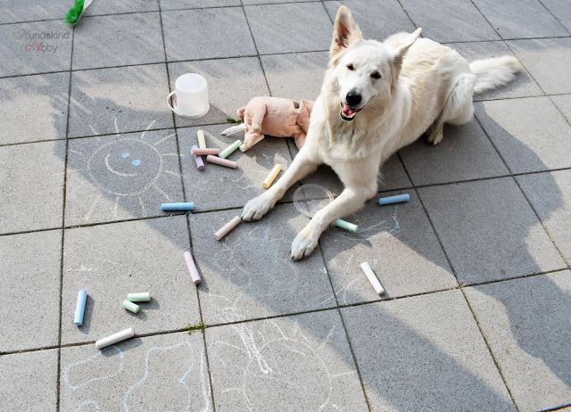 Strassenmalerei-1 %Hundeblog
