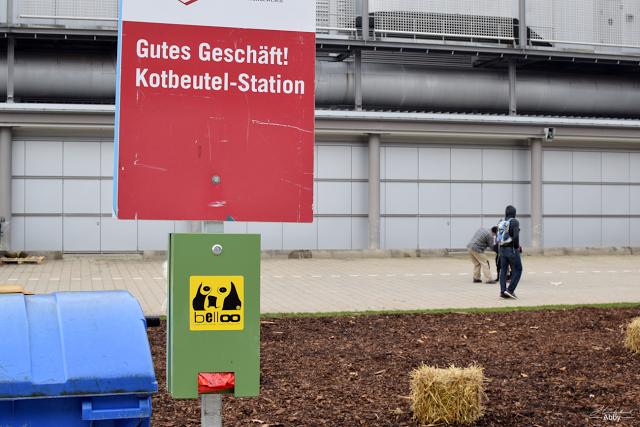 Kotbeutel-Station